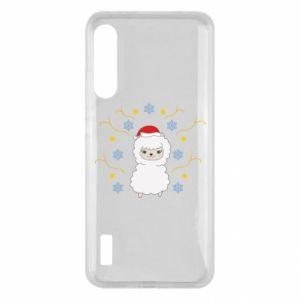 Xiaomi Mi A3 Case Alpaca in the Snowflakes