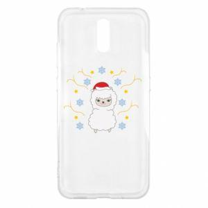 Nokia 2.3 Case Alpaca in the Snowflakes