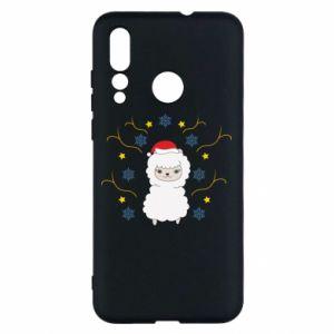 Huawei Nova 4 Case Alpaca in the Snowflakes