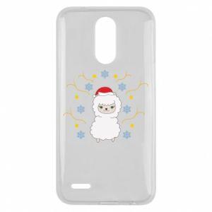 Lg K10 2017 Case Alpaca in the Snowflakes