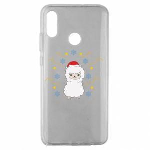 Huawei Honor 10 Lite Case Alpaca in the Snowflakes
