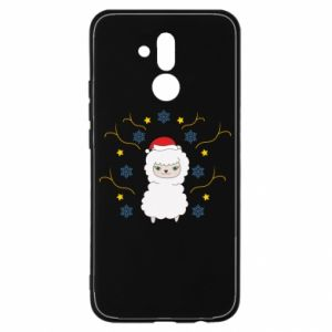 Huawei Mate 20Lite Case Alpaca in the Snowflakes