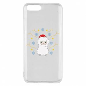 Phone case for Xiaomi Mi6 Alpaca in the Snowflakes