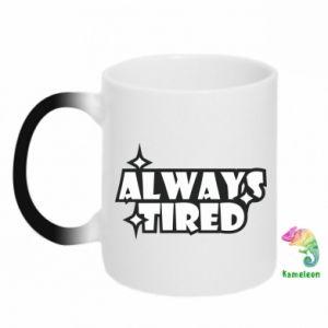 Kubek-magiczny Always tired