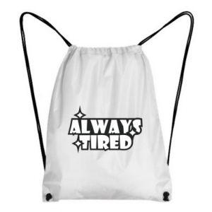 Plecak-worek Always tired