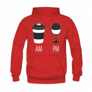 Bluza z kapturem dziecięca Am or pm