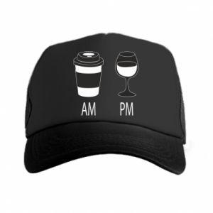 Czapka trucker Am or pm
