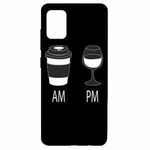 Etui na Samsung A51 Am or pm