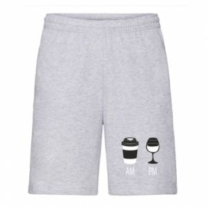 Men's shorts Am or pm