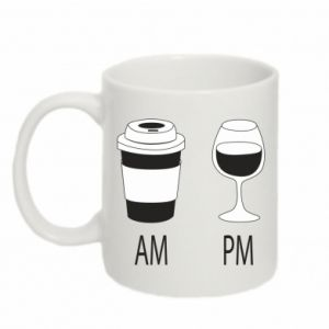 Mug 330ml Am or pm
