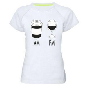Koszulka sportowa damska Am or pm