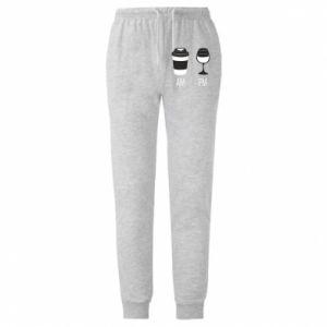 Spodnie lekkie męskie Am or pm