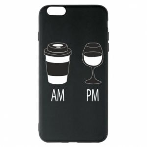 Phone case for iPhone 6 Plus/6S Plus Am or pm