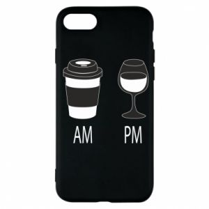 Phone case for iPhone 7 Am or pm