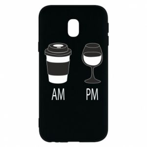 Phone case for Samsung J3 2017 Am or pm