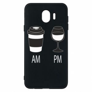 Phone case for Samsung J4 Am or pm