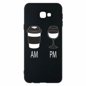 Phone case for Samsung J4 Plus 2018 Am or pm