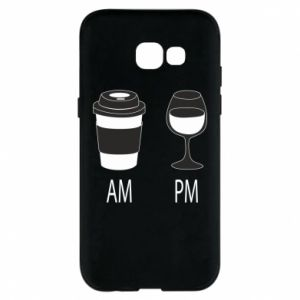 Phone case for Samsung A5 2017 Am or pm