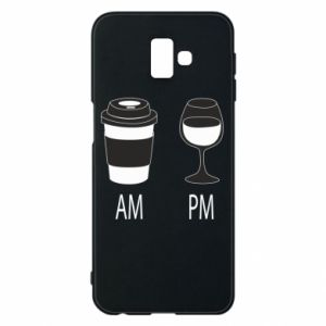 Phone case for Samsung J6 Plus 2018 Am or pm