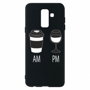 Phone case for Samsung A6+ 2018 Am or pm