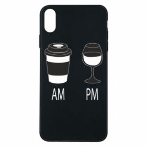 Phone case for iPhone Xs Max Am or pm