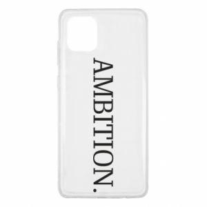 Etui na Samsung Note 10 Lite Ambition.
