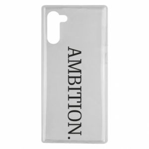 Etui na Samsung Note 10 Ambition.