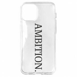 Etui na iPhone 12 Mini Ambition.