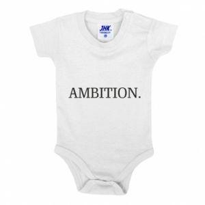 Baby bodysuit Ambition.