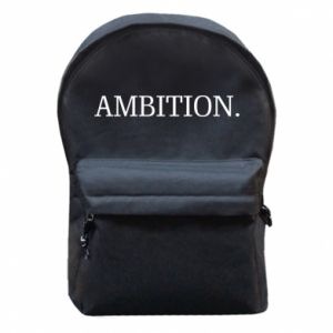 Backpack with front pocket Ambition.
