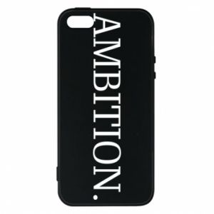 Etui na iPhone 5/5S/SE Ambition.