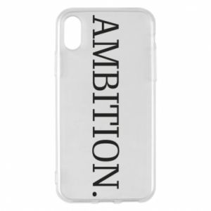 Etui na iPhone X/Xs Ambition.