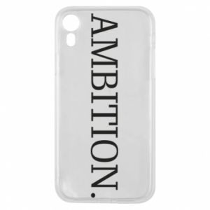 Etui na iPhone XR Ambition.