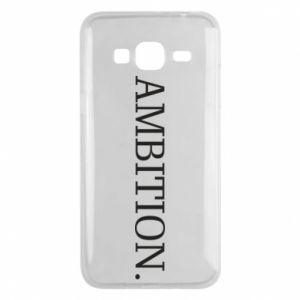 Phone case for Samsung J3 2016 Ambition.