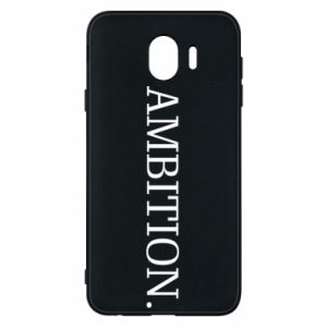 Phone case for Samsung J4 Ambition.