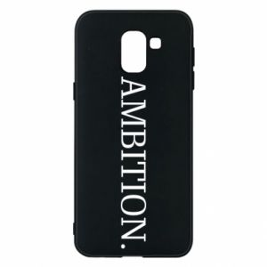 Phone case for Samsung J6 Ambition.
