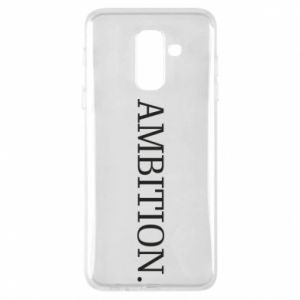 Phone case for Samsung A6+ 2018 Ambition.