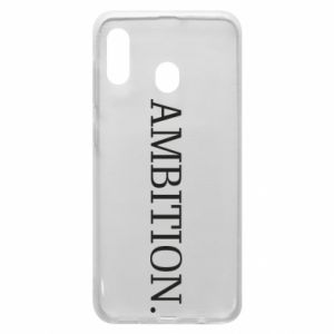 Phone case for Samsung A20 Ambition.