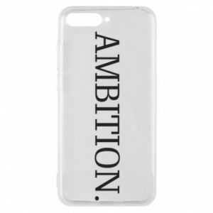 Phone case for Huawei Y6 2018 Ambition.