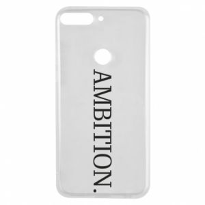 Phone case for Huawei Y7 Prime 2018 Ambition.