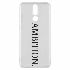 Phone case for Huawei Mate 10 Lite Ambition.