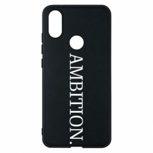 Phone case for Xiaomi Mi A2 Ambition.