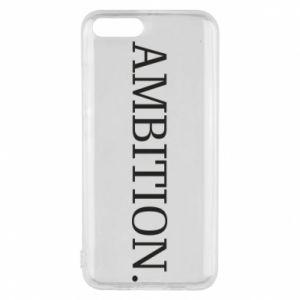 Phone case for Xiaomi Mi6 Ambition.