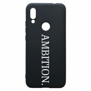 Phone case for Xiaomi Redmi 7 Ambition.
