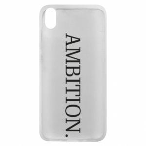 Phone case for Xiaomi Redmi 7A Ambition.