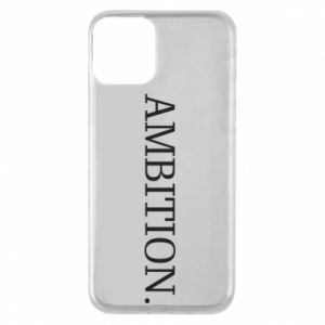 Etui na iPhone 11 Ambition.