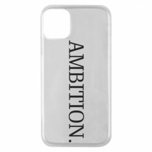 Etui na iPhone 11 Pro Ambition.
