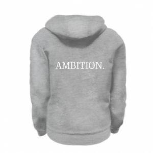 Bluza na zamek dziecięca Ambition.