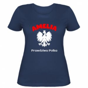 Women's t-shirt Amelia is a real Pole