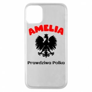 Phone case for iPhone 11 Pro Amelia is a real Pole